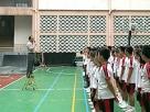 升旗禮上校長講話,勉勵同學把握機遇